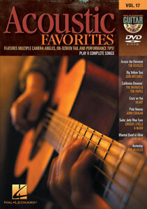 Acoustic-Favorites-Guitar-Play-Along-8-Songs-DVD-NEW
