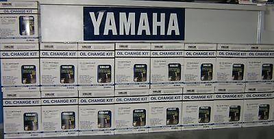Yamaha 4-Stroke Outboard Oil Change Kit F150 HP 10W30