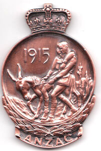 1915  Anzac Collar Badge Quality Copy