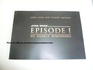 Star Wars Episode 1 Die Dunkle Bedrohung Presseheft