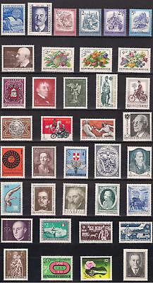 Österreich Jahrgang 1974 postfrisch komplett