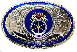 International Brotherhood of Teamsters Labor Union Coalition United Belt Buckle