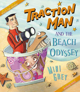 Traction Man and the Beach Odyssey-ExLibrary