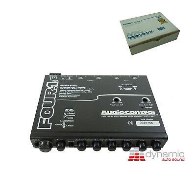 Audiocontrol Four.1i Indash Car Audio Equalizer Eq Pre-amp Line Driver W/aux