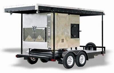 We Offer Fully Loaded BBQ Smoker Trailers