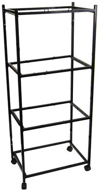 """4 Tiers Stand for 30""""x18""""x18"""" Size Aviary Bird Cages T813 Black-248"""