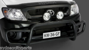 TOYOTA HILUX BULLBAR OVERBAR STYLE 2WD ONLY STEEL 2008-2011 WORKMATE SR GENUINE