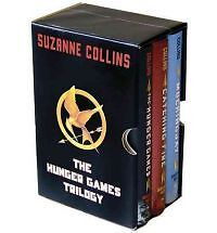 THE HUNGER GAMES TRILOGY H/C BOX SET - COLLINS #1-3*NEW