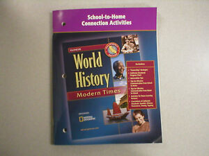 Glencoe World History School-to-Home TE 0078726913