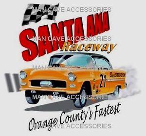 Vintage-SANTA-ANA-Raceway-Vinyl-Decal-Sticker-NHRA-IHRA