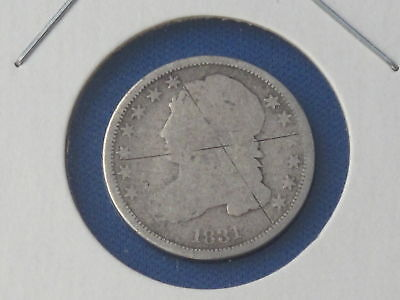 1831 CAPPED BUST DIME B5036