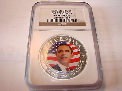 OBAMA 2009  PROOF COIN NGC CERTIFIED