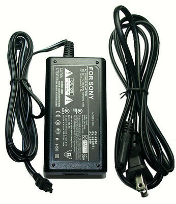 Ac Adapter For Sony Dcr-hc42e Dcr-hc46e Hxr-mc50 Hxr-nx70u Hxr-nx70p