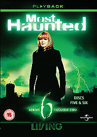 Most Haunted Complete Series 6 Part 2 DVD All Episodes Sixth Season UK RELE NEW