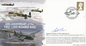 60th anniv 1st 1000 bomber raid signed c anderson   enlarge
