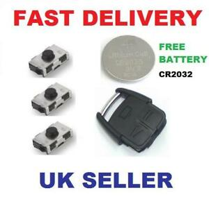 Vauxhall-Vectra-3-button-Remote-Alarm-Key-Fob-Repair-Kit