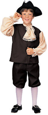 Colonial Boy Child Halloween Costume Small 4-6