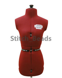 Adjustable Dressmaking Doll Mannequin Tailors Dummy Supafit Adjusto Form Choose