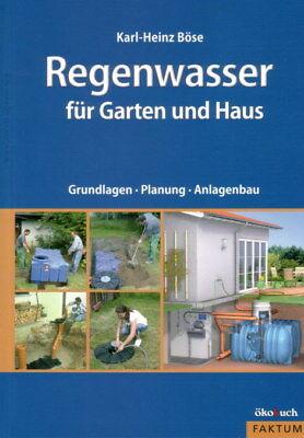 Regenwasser sammeln Regenwassertank Hauswassersystem Wassersparen Bauanleitung