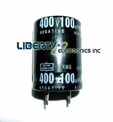100 Uf 400v Electrolytic Capacitor 30x21mm