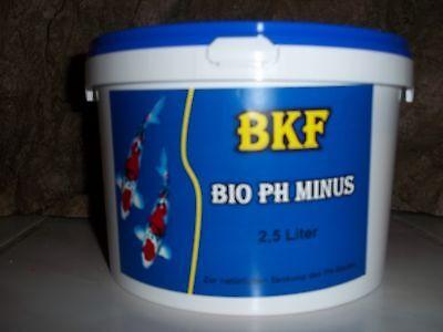 2,5 L Teich-ph-minus-bio-ph Minus-ph-senker Gartenteich Fadenalgen Algenstop,