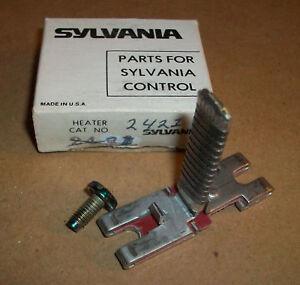 Sylvania Motor Starter Overload Heater 2421 Ebay