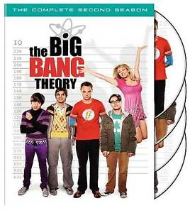 The-Big-Bang-Theory-Complete-Second-2nd-2-Two-Season-DVD-2009-4-Disc-Set-NEW
