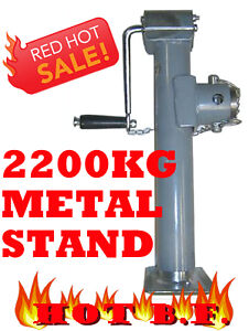 2200KG-TRAILER-CARAVAN-JACK-JOCKEY-WHEEL-METAL-STAND