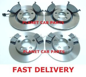 VW-GOLF-MK4-1-9-SDi-1998-2004-FRONT-AND-REAR-BRAKE-DISCS-PADS-SET-NEW