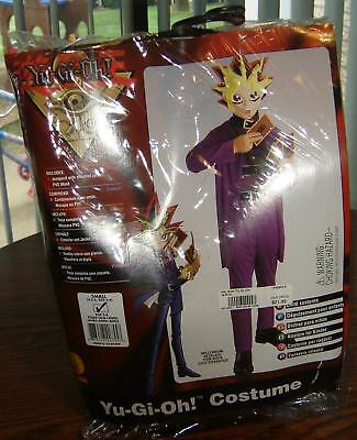 Yu-Gi-Oh! Halloween Costume Small With Necklace  - New - Yu Gi Oh Halloween Costumes