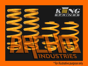 FORD FALCON BA BF XR6 FRONT & REAR 30mm LOWERED COIL KING SPRINGS