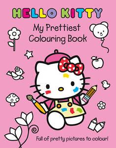 Hello Kitty - My Prettiest Colouring Book, , New Book
