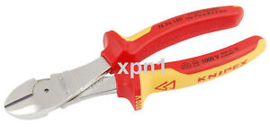Knipex-74-06-180-VDE-Insulated-High-Leverage-Diagonal-Side-Cutters-180mm-NH