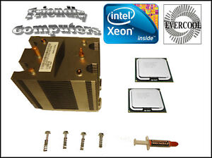 DELL-Precision-490-690-Matched-Pair-Quad-Core-3-0GHz-X5365-XEON-CPU-w-Heat-sink