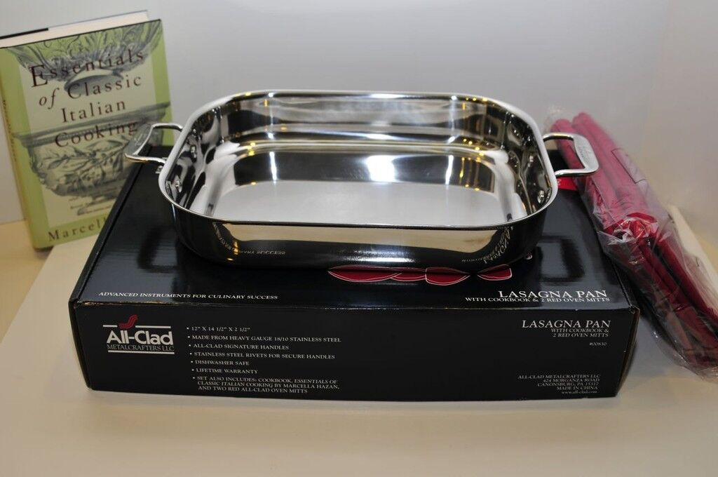 All-Clad® Lasagna Pan + GET THIS FREE see offer details