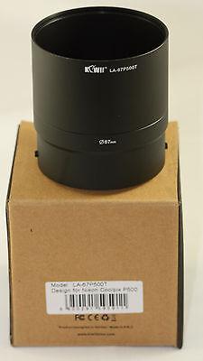 Fuji Finepix S6850 Lens Filter Adapter Tube 72mm Fujifilm S-6850 Metal Tube