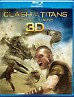 Clash of the Titans (Blu-ray/DVD, 2010, 3-Disc Set, Canadian; Includes Digital Copy; 3D)