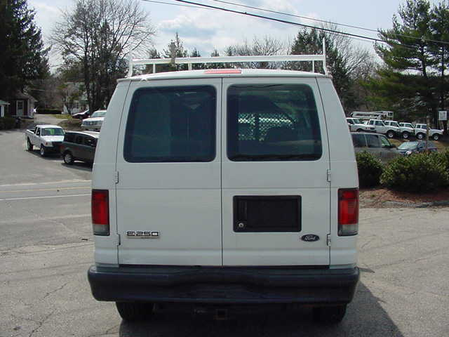 2008 Ford E250 Cargo Van, Bin Package, Devider 43K