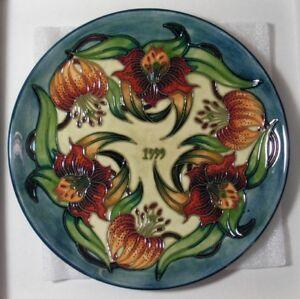 Moorcroft design studio uk 1999 tiger lily 8 1 2 plate - Tiger lily hair salon ...