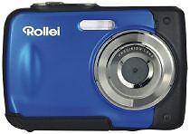 Rollei-Sportline-60-5-0-MP-Digitalkamera-BLAU-WASSERDICHT-UNTERWASSERKAMERA