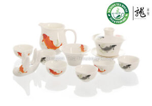 Fish-Porcelain-Tea-Set-Gaiwan-pitcher-strainer-cup