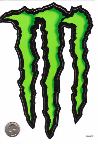 monster energy lg 9 sticker atv car toy bike bmx racing. Black Bedroom Furniture Sets. Home Design Ideas