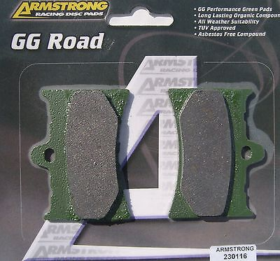 Aprilia RS 125 92-05 FRONT BRAKE PADS ARMSTRONG GG 230116