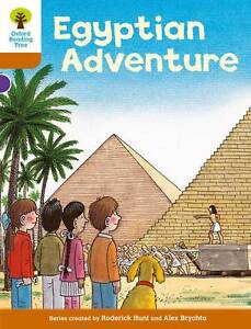 Oxford Reading Tree: Level 8: More Stories: Egyptian Adventure, Hunt, Roderick