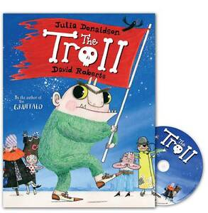 The-Troll-Book-and-CD-Pack-Julia-Donaldson-Paperback-Book-NEW-9780230704107