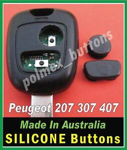 Peugeot 307 407 remote key fob Repair Silicone BUTTONS
