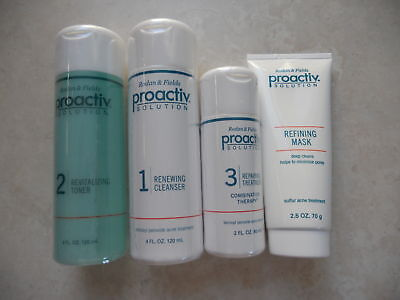 PROACTIV Proactive Solution 4 Pc Kit 60 Day NEW FORMULA on Rummage