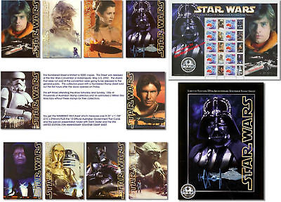 STAR WARS STAMPS & POSTCARDS Pac Ltd. Edition 25th Anv. on Rummage