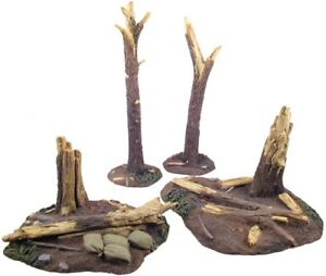 William-Britain-51008-World-War-I-Tree-Stumps