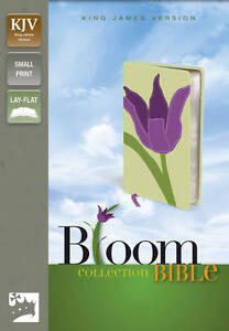 BIBLE: KJV BLOOM COLLECTION BIBLE : WH2-R4A : PB956 : NEW